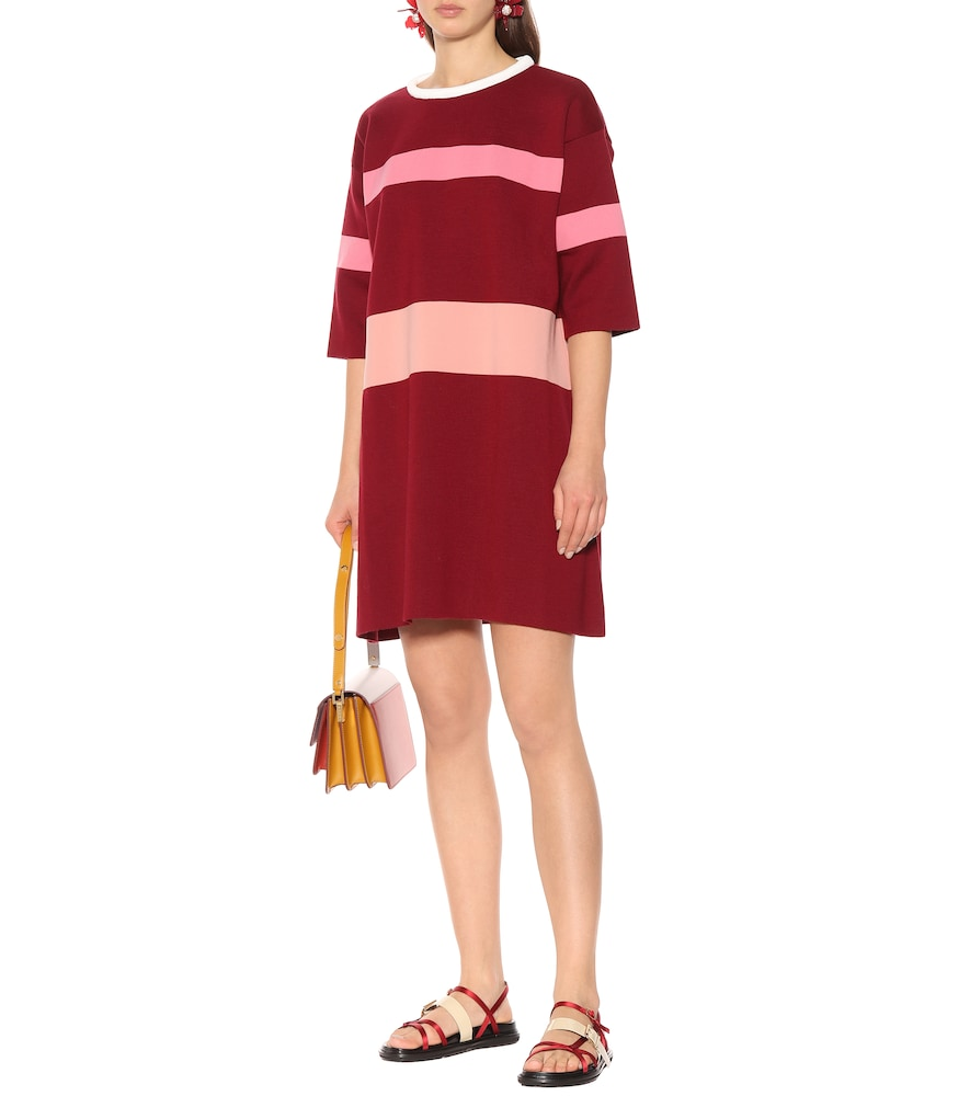 Wool and cashmere-blend dress by Marni
