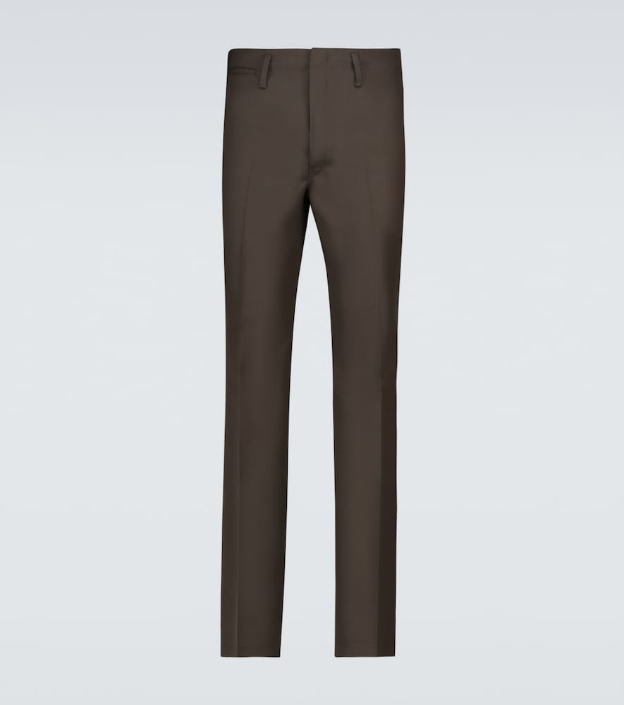 Lemaire Cottons STRAIGHT-FIT PANTS
