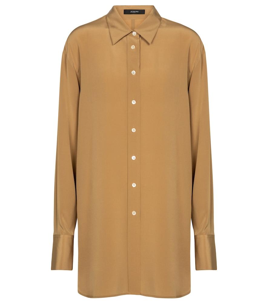 JOSEPH Brooks silk cr?e shirt