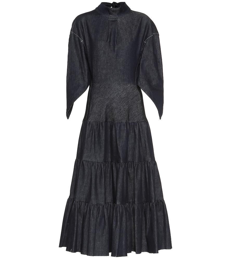 Robe longue en jean - Chloé - Modalova
