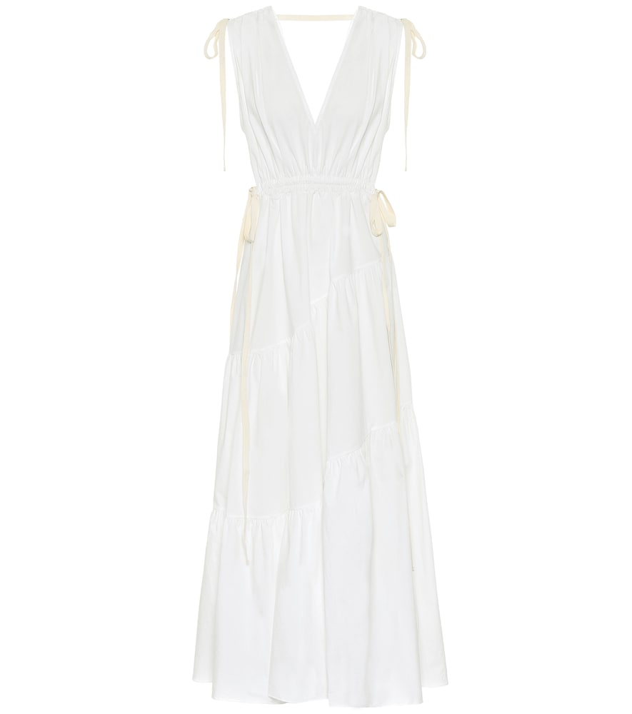 Exclusivité Mytheresa – Robe longue en coton - Lee Mathews - Modalova