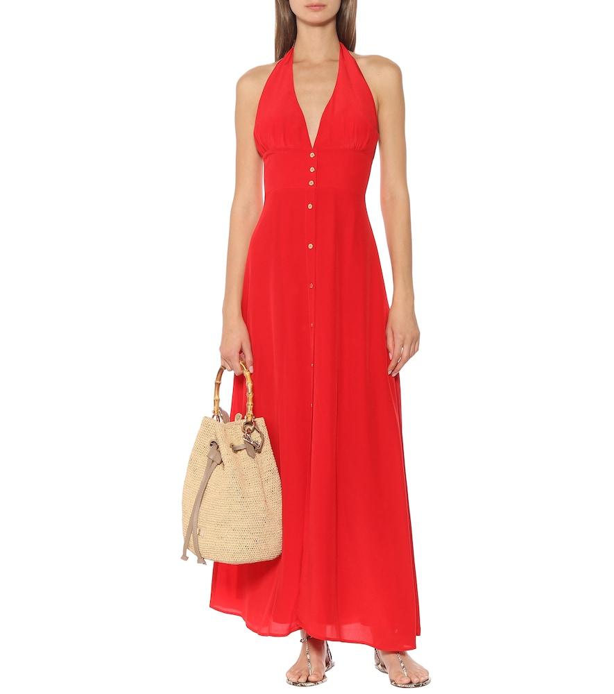 Pampelonne silk maxi dress by Heidi Klein