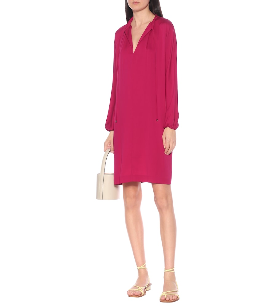 Photo of Jessica stretch-silk minidress by Diane von Furstenberg - shop Diane von Furstenberg Dresses, Short online