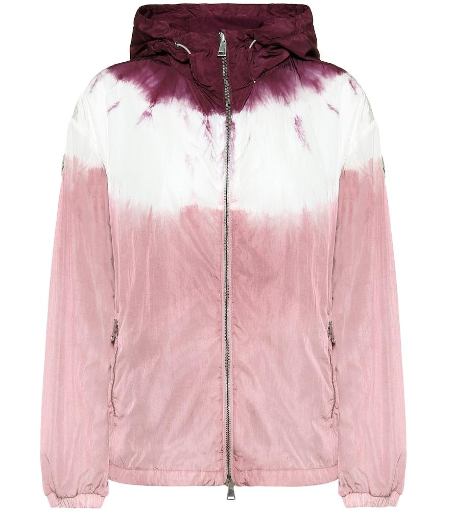 Tie-dye technical jacket
