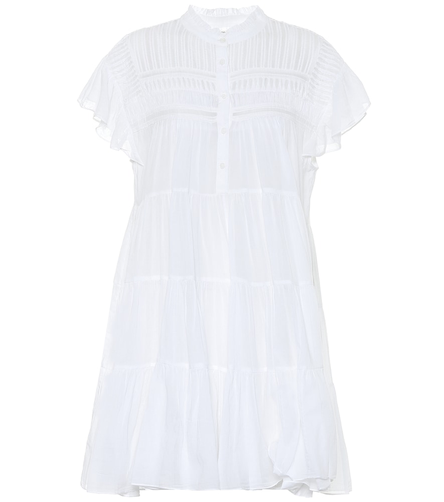 Etoile Isabel Marant LANIKAYE COTTON MINI DRESS