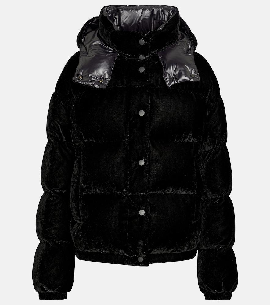 Daos velvet down jacket