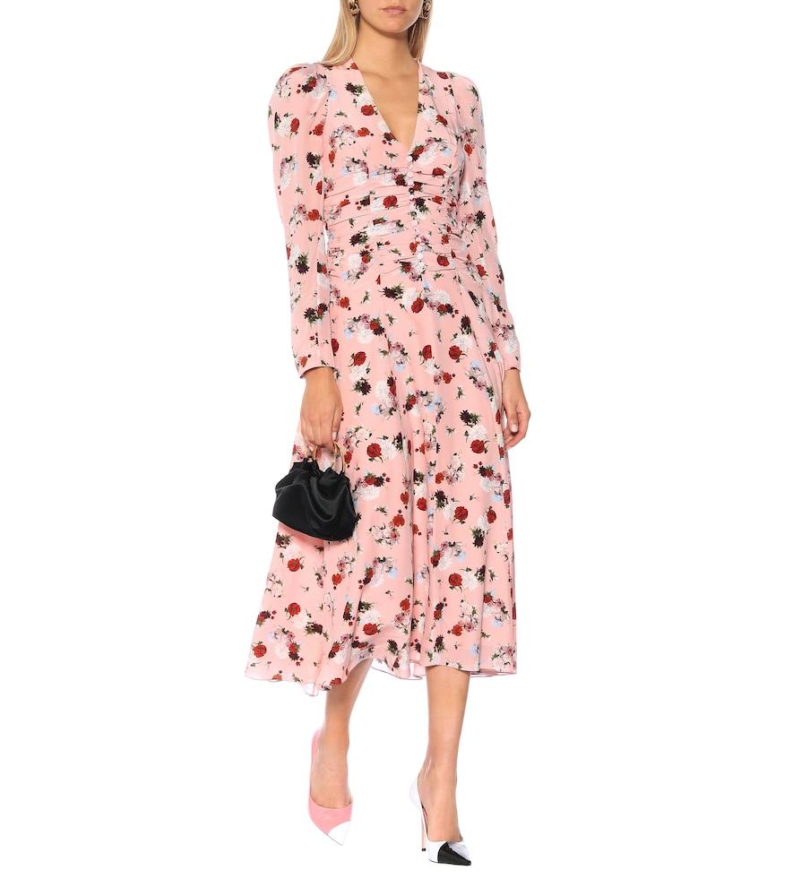 Exclusive to Mytheresa - Annalee floral silk midi dress by Erdem