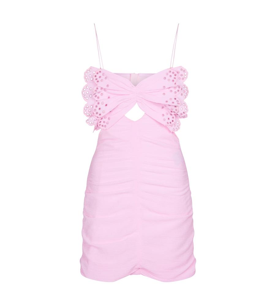 Likyna cotton and silk minidress by Isabel Marant