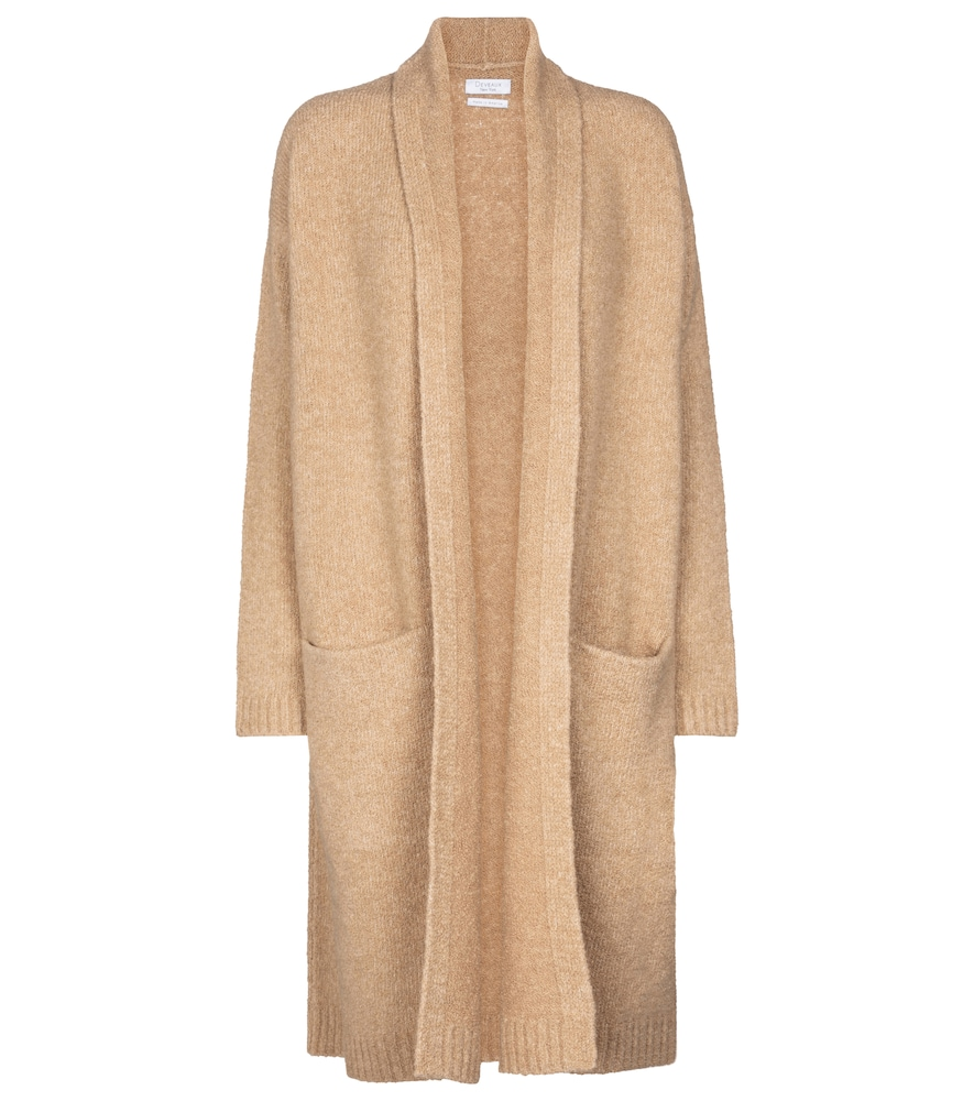 Cassie wool and cashmere-blend cardigan