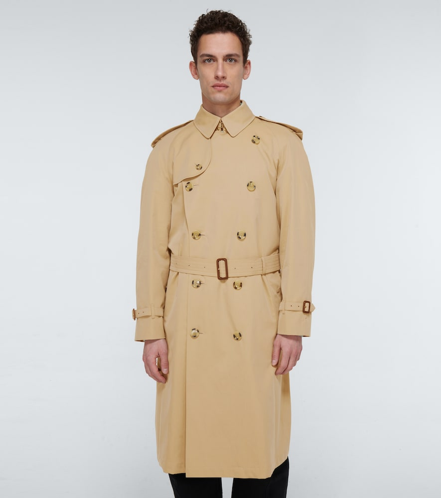 BURBERRY Cottons WESTMINSTER CLASSIC TRENCH COAT
