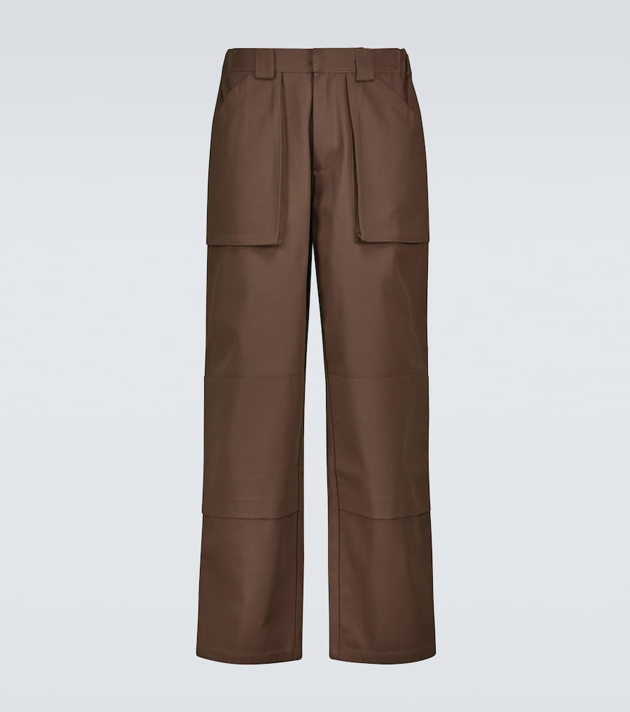 Gusset pocket pants