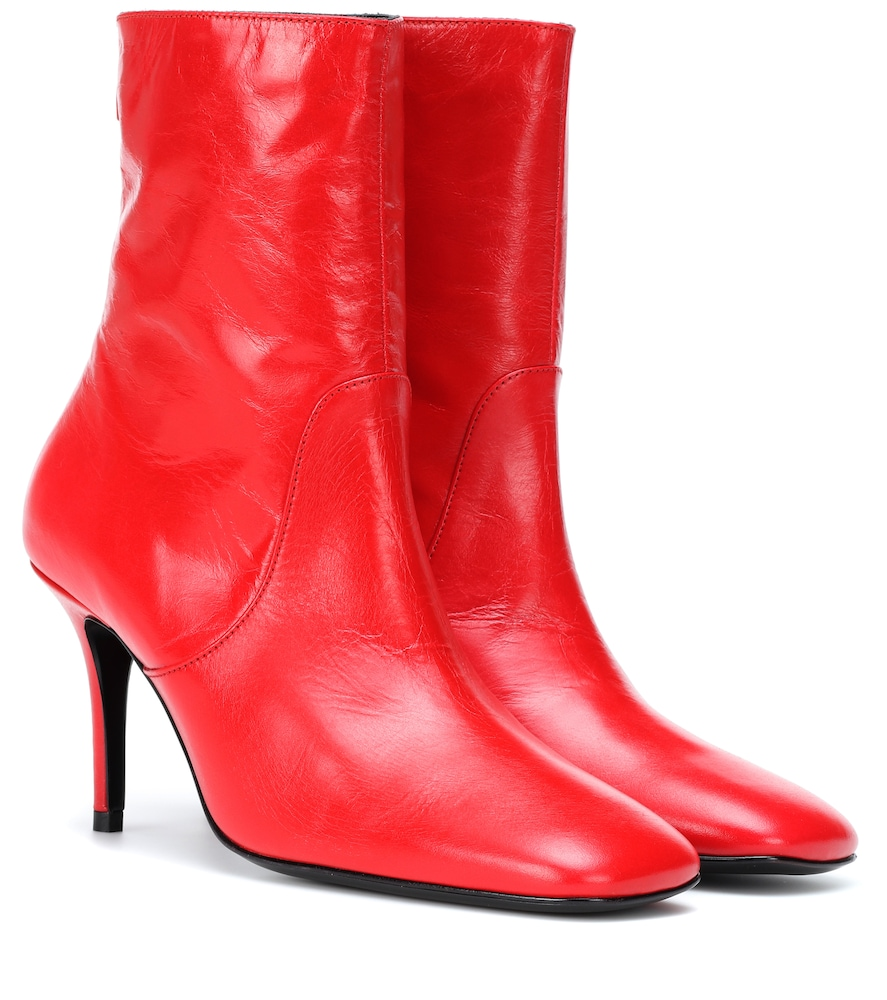 Bottines en cuir verni Town and Country