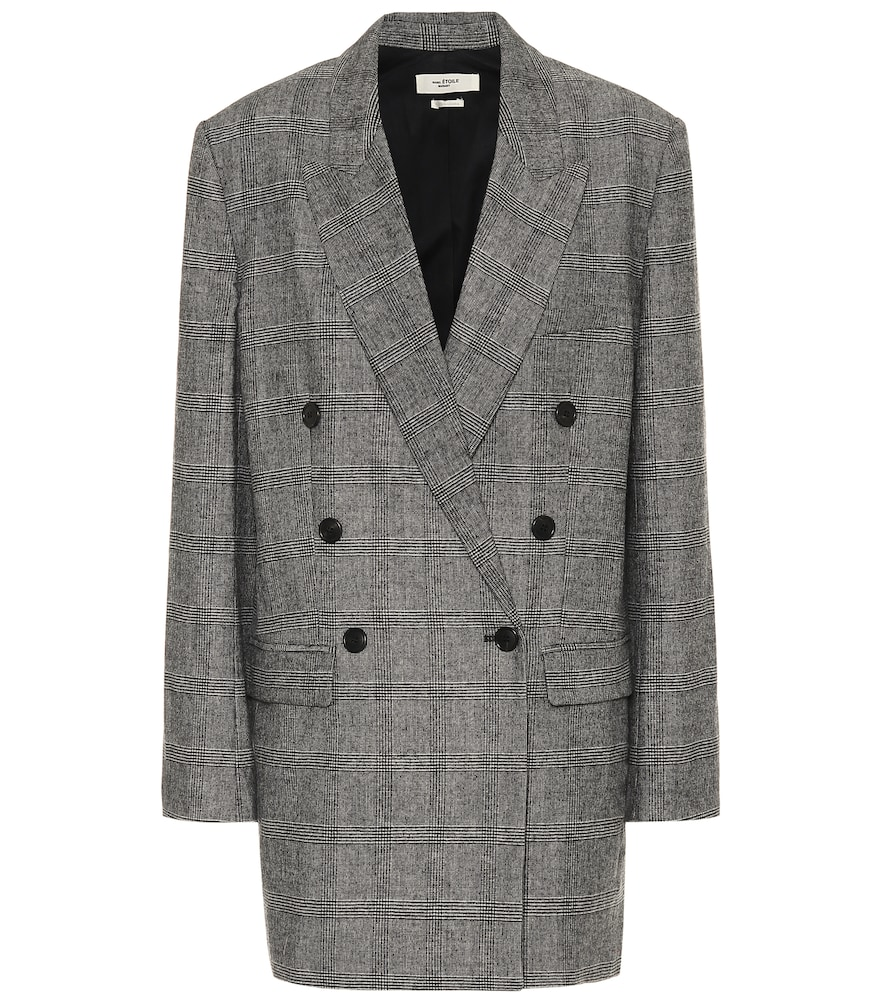 Eagan checked flannel blazer by Isabel Marant, ?oile