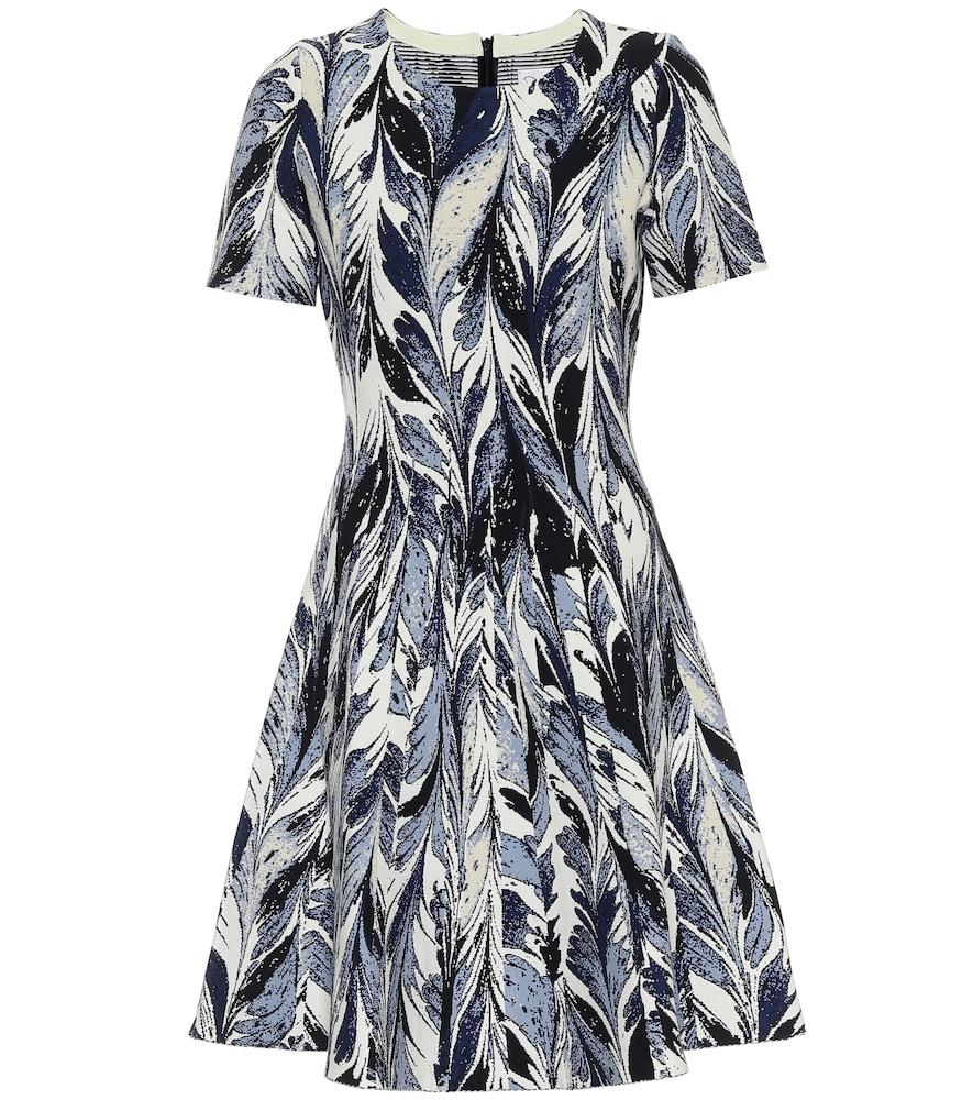 Robe imprimée - Oscar de la Renta - Modalova