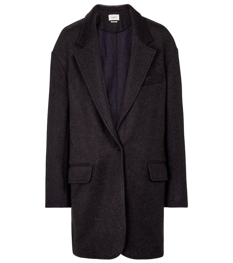 ISABEL MARANT ÉTOILE Wools LATTY WOOL-BLEND COAT