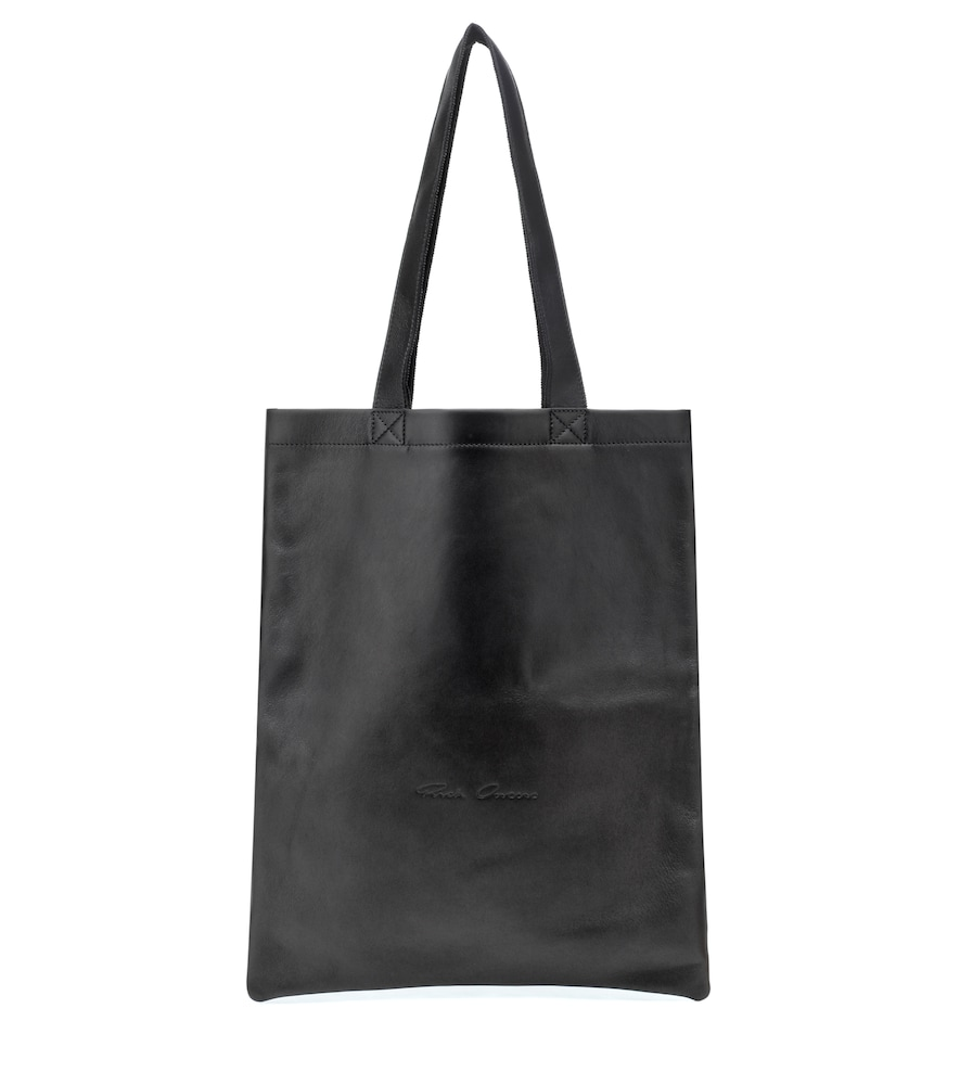 LEATHER TOTE from mytheresa.com