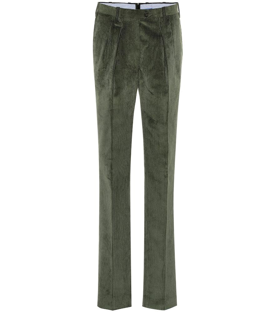 Pantalon The Husband en velours côtelé
