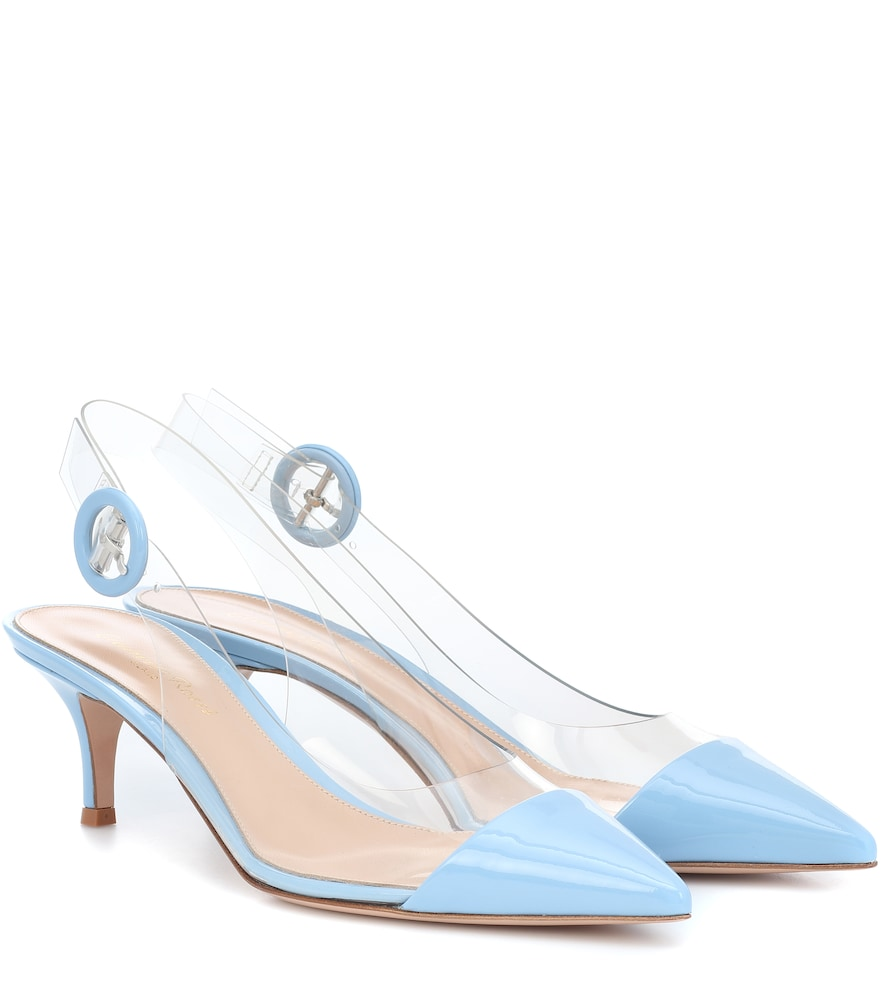 ALICE SLINGBACK PATENT LEATHER PUMPS