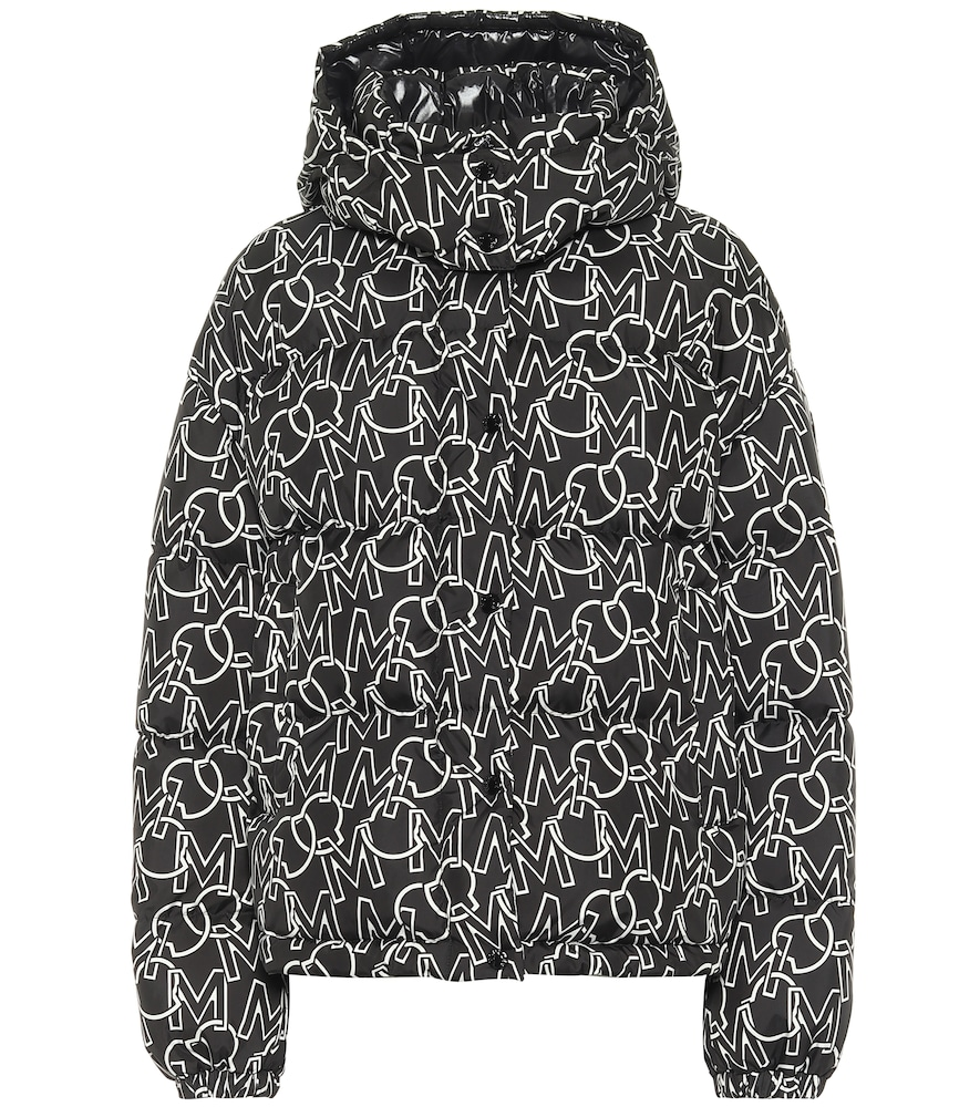 Daos printed quilted down jacket