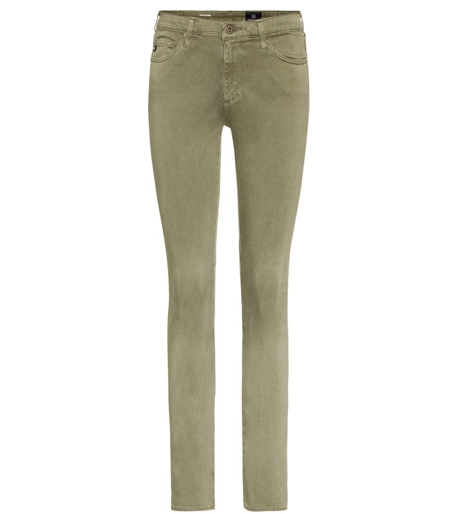 The Prima Mid-rise Cigarette jeans