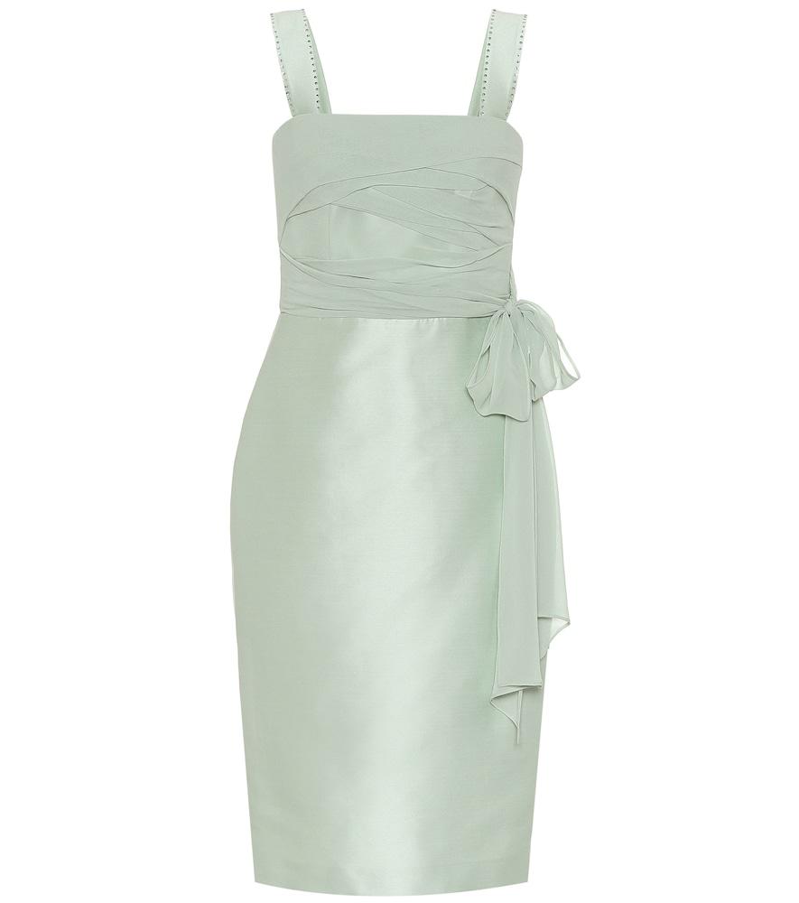 Bardies cotton and silk sheath dress by Max Mara