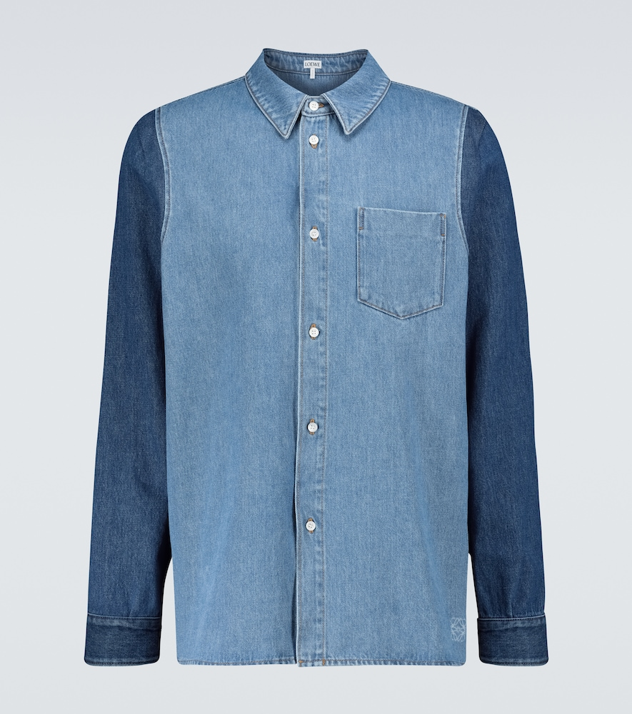 Loewe DENIM COTTON OVERSHIRT