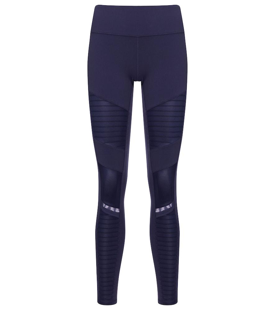 Alo Yoga Pants MOTO HIGH-RISE LEGGINGS