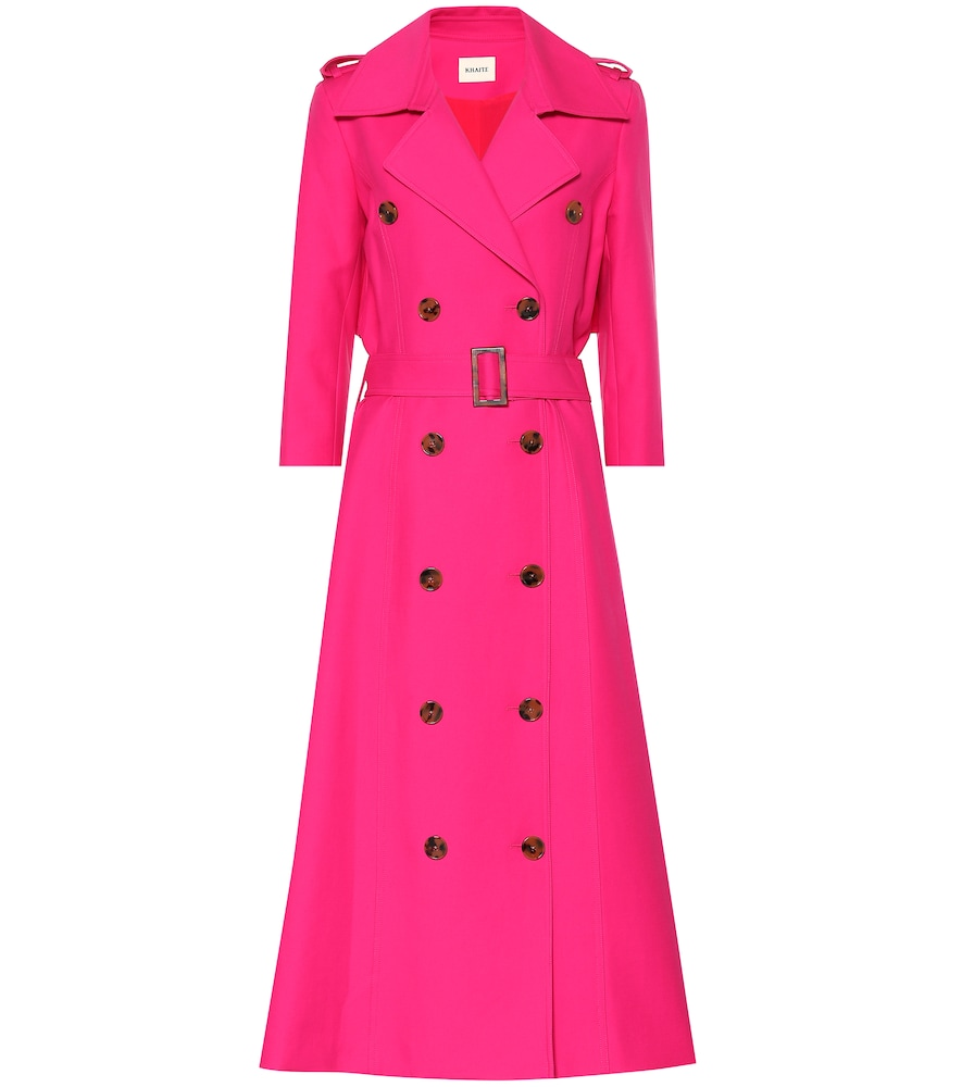 CHARLOTTE COTTON TRENCH COAT