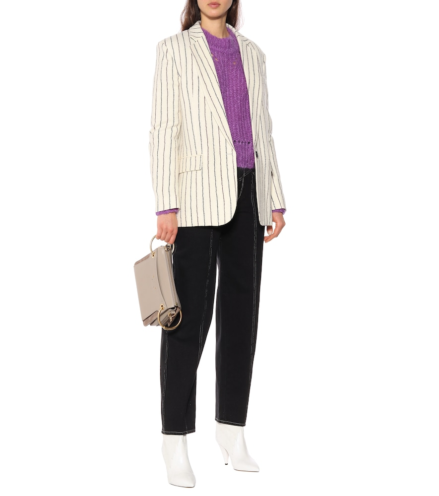 Elder wool and linen blazer by Isabel Marant