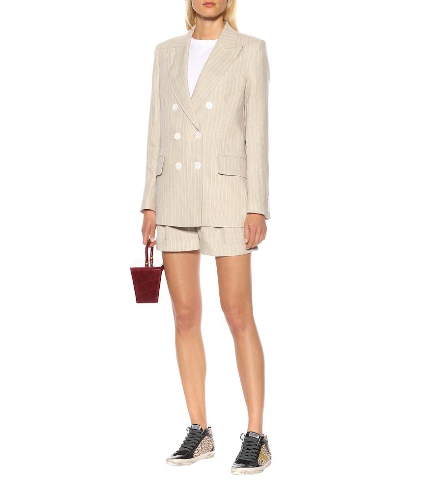 Casablanca linen tuxedo blazer by Racil