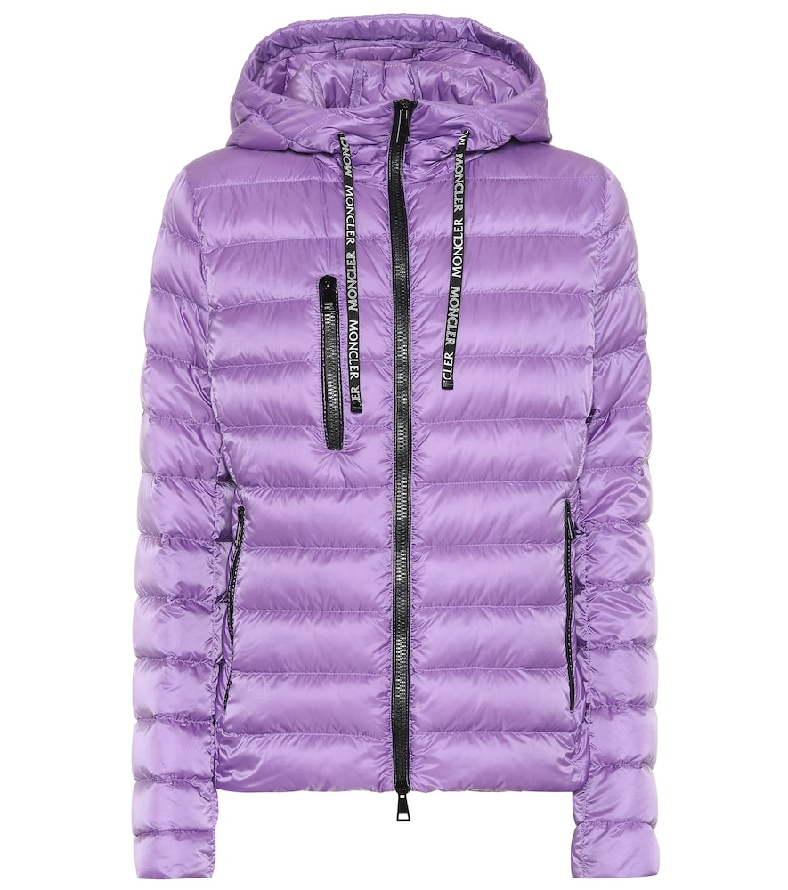 Seoul Quilted Down Jacket in Purple