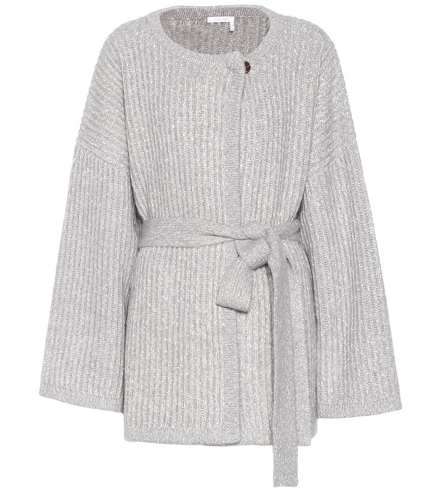 Cardigan en coton et laine mélangés - See By Chloé - Modalova
