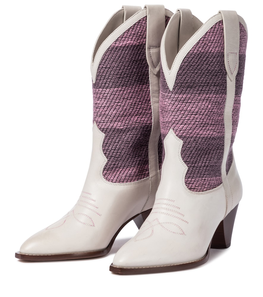 ISABEL MARANT Leathers LULIETTE LEATHER COWBOY BOOTS