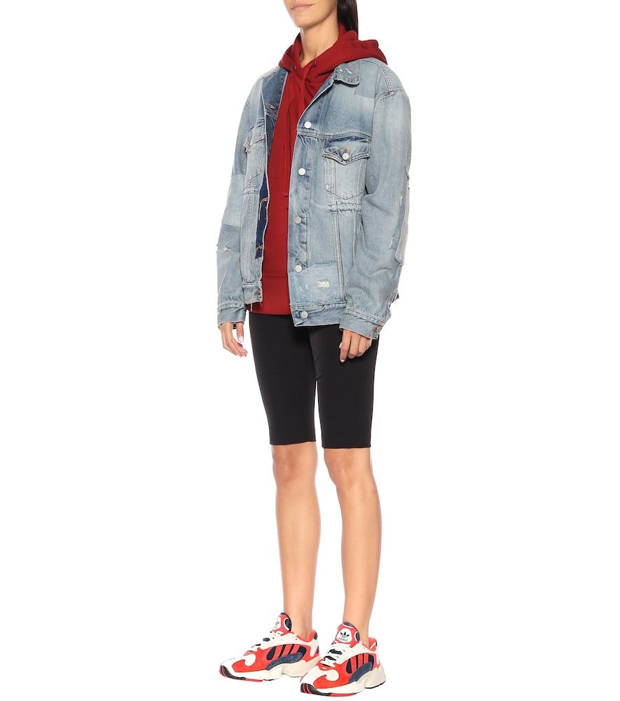 Yung 1 nubuck sneakers by Adidas Originals