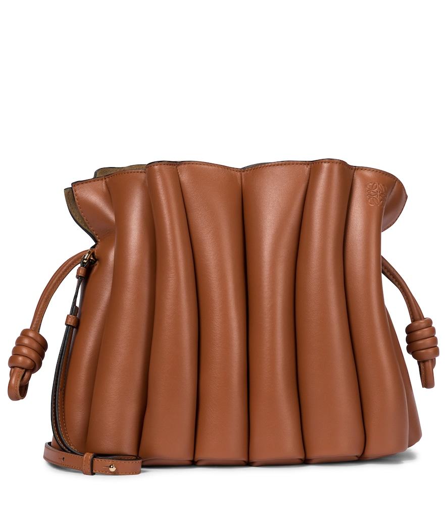 Flamenco Ondas leather clutch