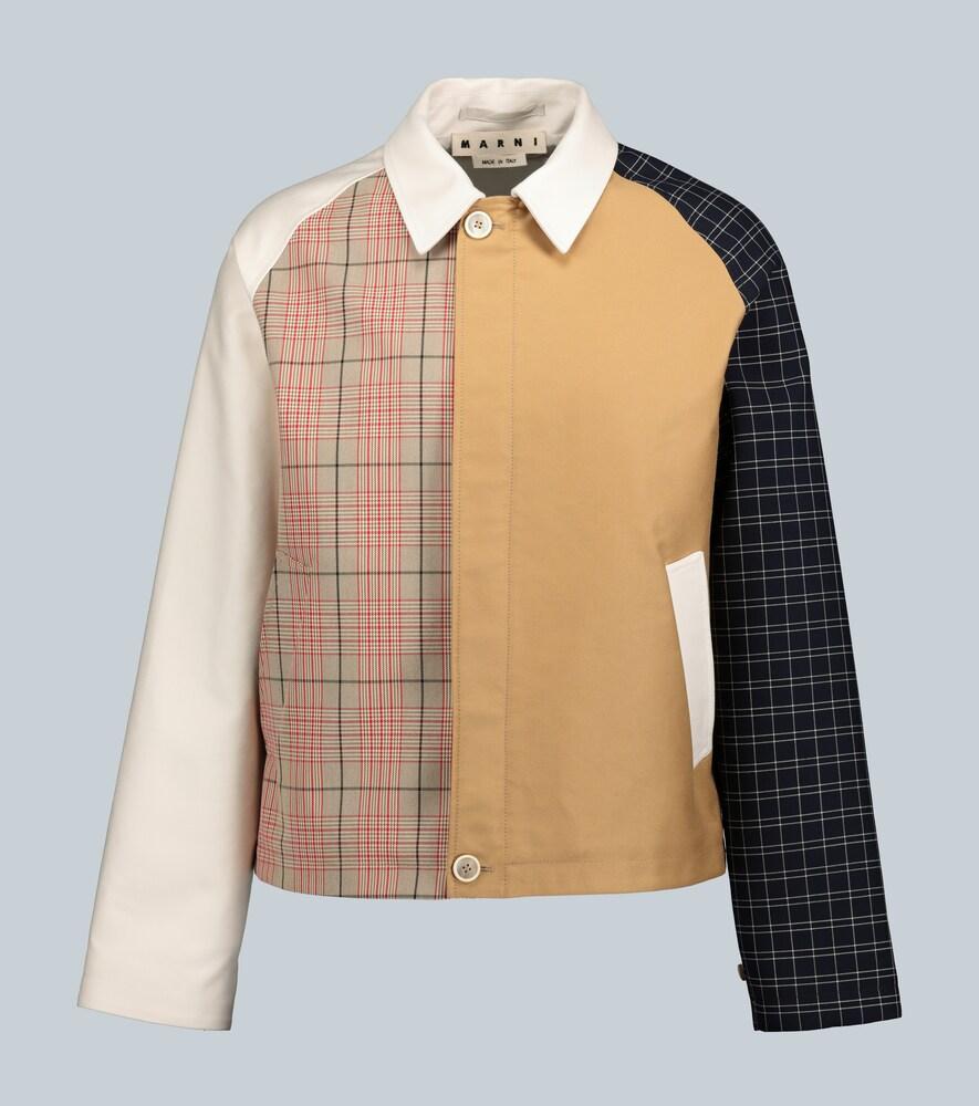 Veste en coton à empiècements - Marni - Modalova