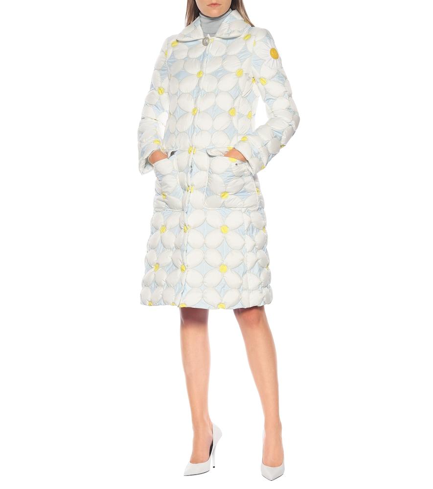 8 MONCLER RICHARD QUINN Candice floral down coat by Moncler Genius