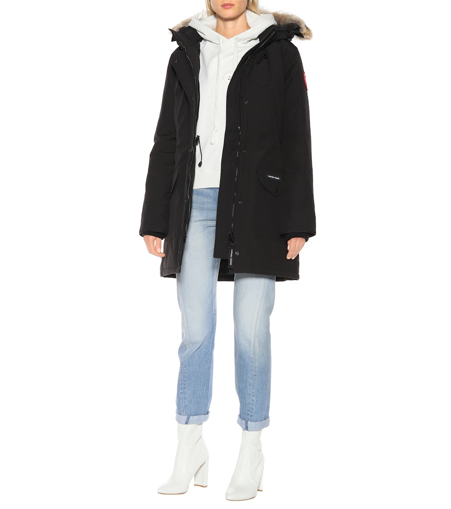 Trillium fur-trimmed hooded parka by Canada Goose