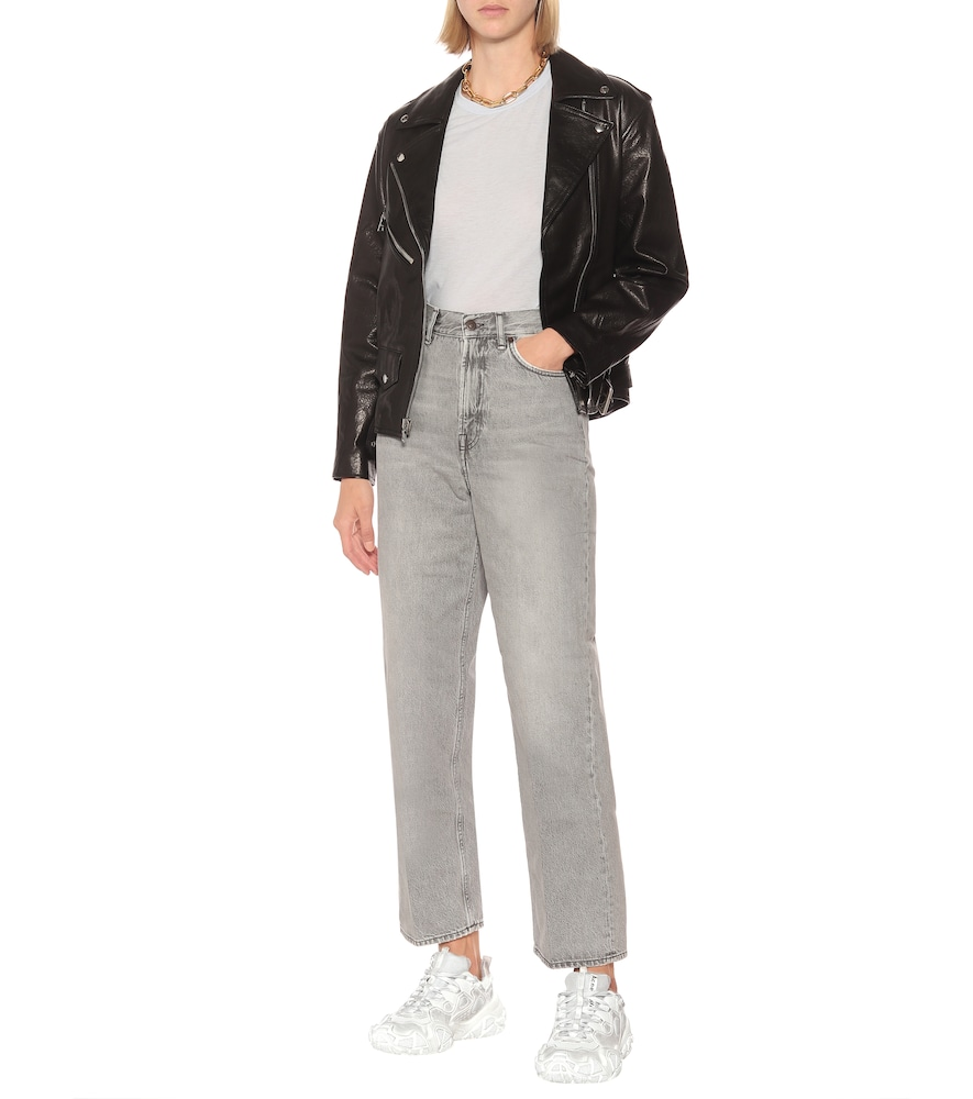 Bolzter W Tumbled sneakers by Acne Studios