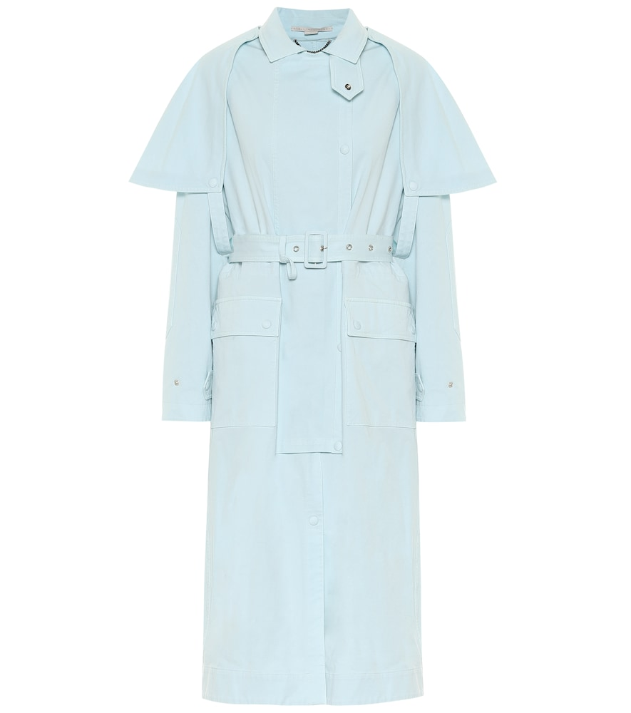 Stacey stretch-cotton trench coat by Stella McCartney