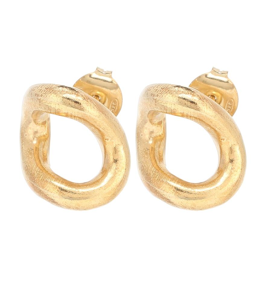 Boucles d'oreilles en argent sterling - Maison Margiela - Modalova