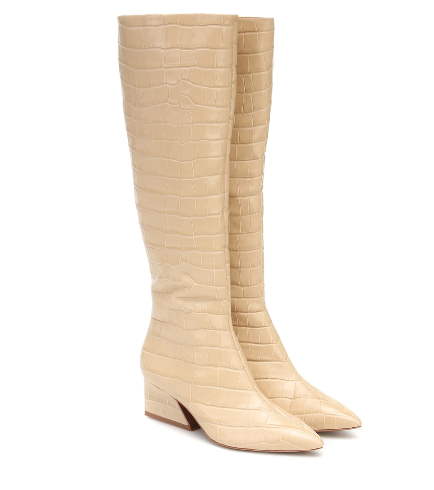 Kyle leather knee-high boots