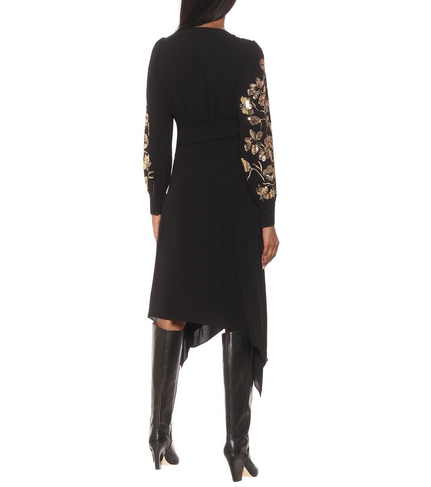 TORY BURCH Dresses SEQUINED WRAP DRESS