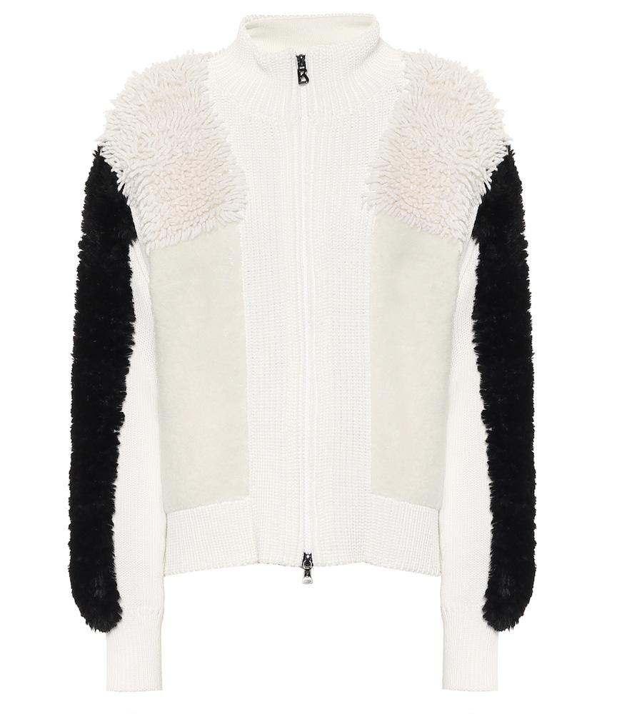 Magalie wool-blend cardigan