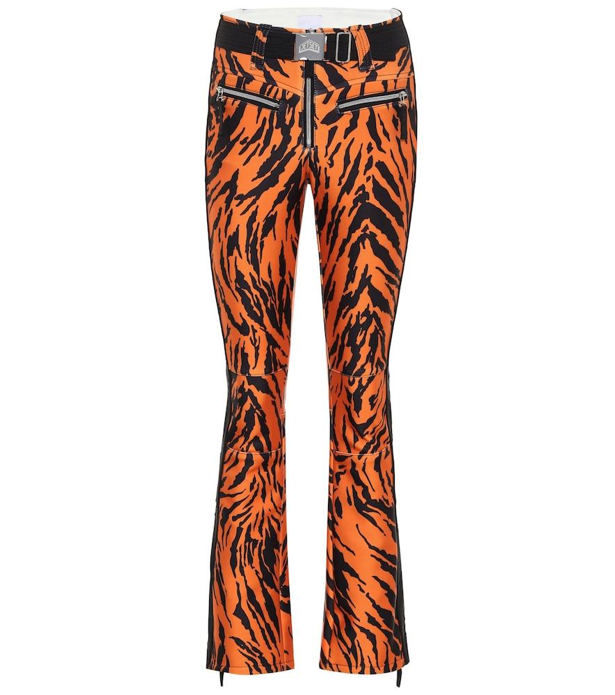 Tiby tiger-print ski pants