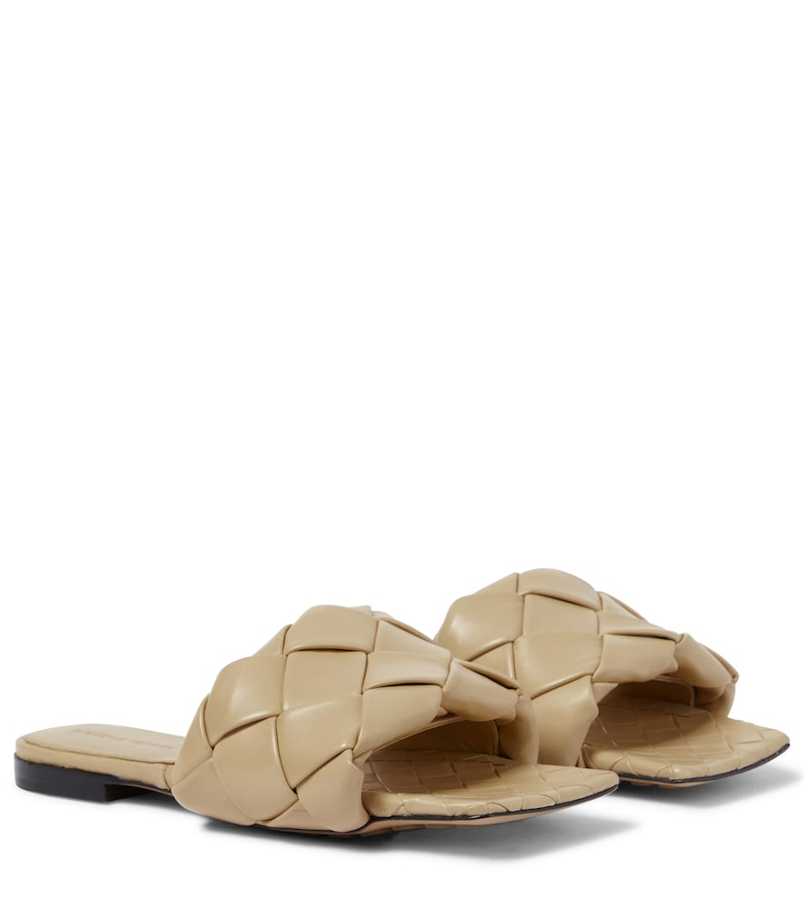 Bottega Veneta BV LIDO LEATHER SANDALS