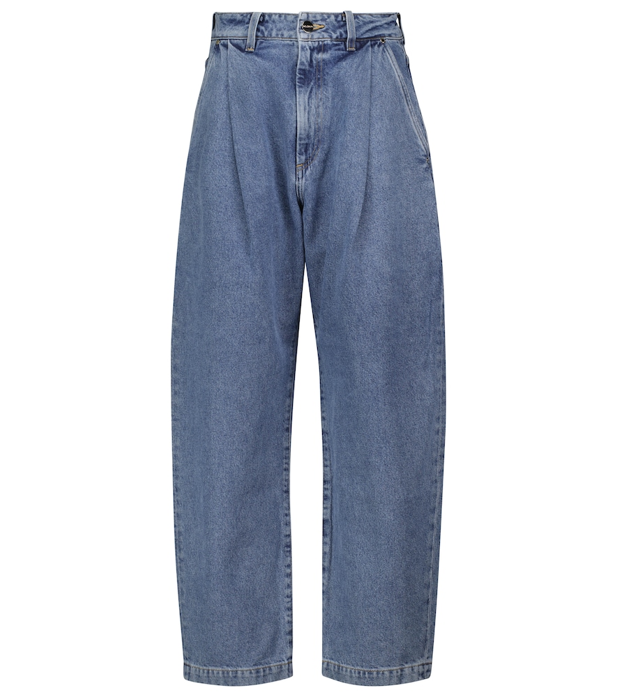 The Dali tapered wide-leg jeans