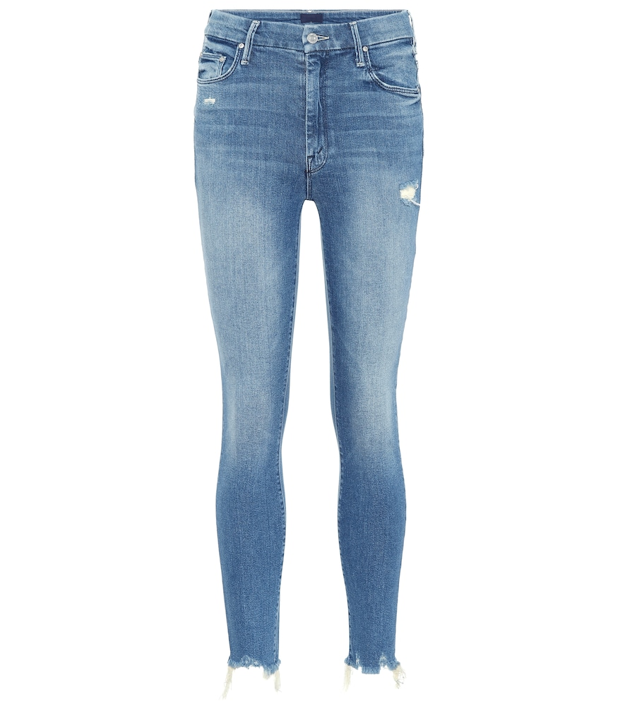 HIGH WAISTED LOOKER ANKLE CHEW JEANS