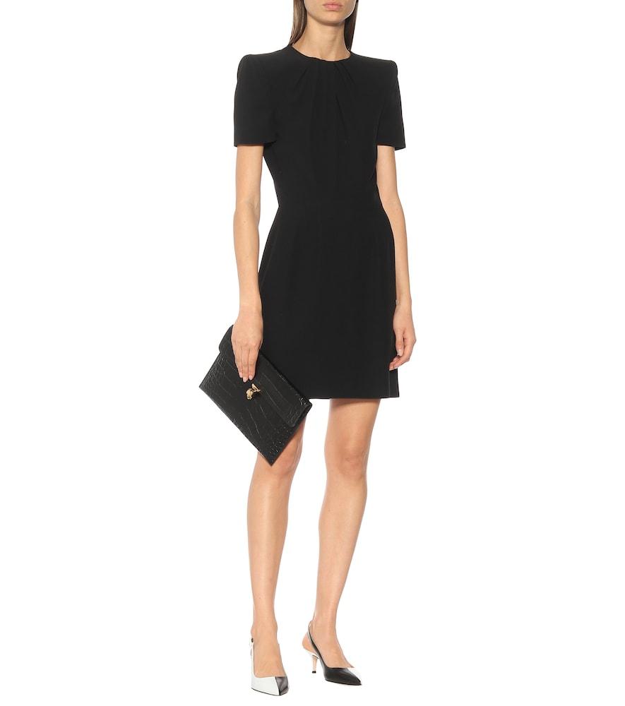 Short-sleeved minidress by Alexander McQueen