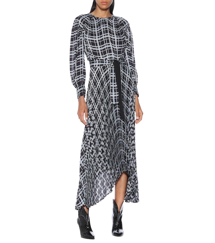 Checked midi dress by Proenza Schouler